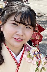 3月に卒業した池田美沙さん